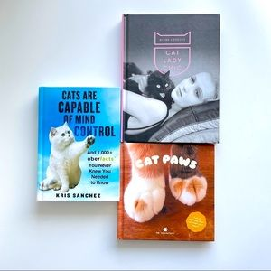 Cat Lady Chic Cat Paws Cat Mind Control Hardcover